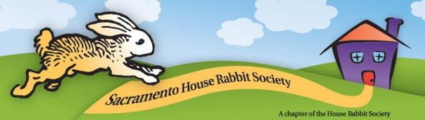 Sacramento House Rabbit Society header